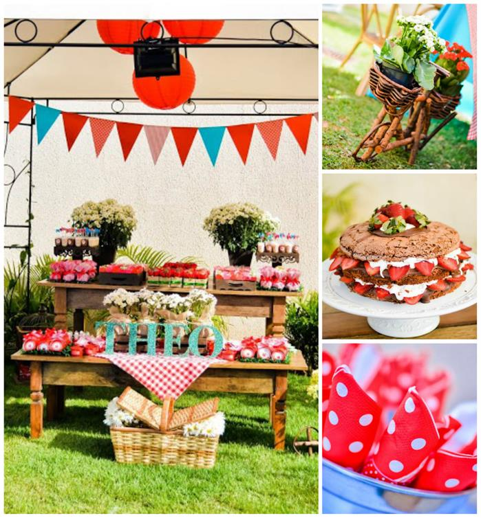 Kara's Party Ideas Garden Picnic Party With Such Cute