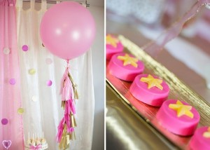 Pink Hollywood Glam Party with Lots of Really Cute Ideas via Kara's Party Ideas | KarasPartyIdeas.com #GirlyParty #HollywoodGlamParty #PartyIdeas #Supplies (15)