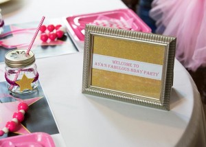 Pink Hollywood Glam Party with Lots of Really Cute Ideas via Kara's Party Ideas | KarasPartyIdeas.com #GirlyParty #HollywoodGlamParty #PartyIdeas #Supplies (2)
