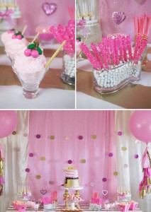 Pink Hollywood Glam Party with Lots of Really Cute Ideas via Kara's Party Ideas | KarasPartyIdeas.com #GirlyParty #HollywoodGlamParty #PartyIdeas #Supplies (1)