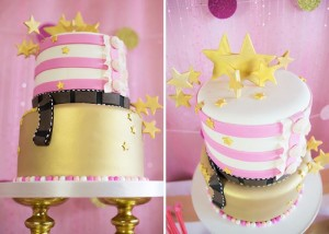 Pink Hollywood Glam Party with Lots of Really Cute Ideas via Kara's Party Ideas | KarasPartyIdeas.com #GirlyParty #HollywoodGlamParty #PartyIdeas #Supplies (12)