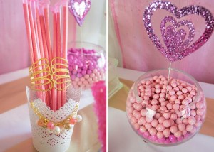 Pink Hollywood Glam Party with Lots of Really Cute Ideas via Kara's Party Ideas | KarasPartyIdeas.com #GirlyParty #HollywoodGlamParty #PartyIdeas #Supplies (9)
