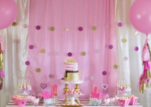 Pink Hollywood Glam Party with Lots of Really Cute Ideas via Kara's Party Ideas | KarasPartyIdeas.com #GirlyParty #HollywoodGlamParty #PartyIdeas #Supplies (7)