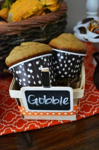 Gobble Gobble Thanksgiving Party with Such Cute Ideas via Kara's Party Ideas | KarasPartyIdeas.com #ThanksgivingParty #PartyIdeas #Supplies (23)