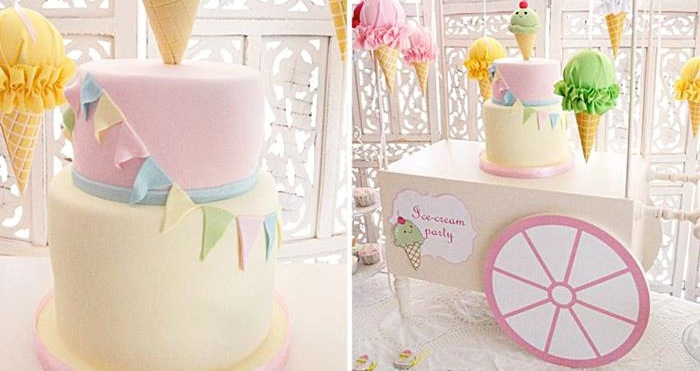 Kara S Party Ideas Ice Cream Party Planning Ideas Supplies