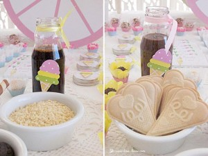 Ice Cream Party with Lots of Darling Ideas via Kara's Party Ideas | KarasPartyIdeas.com #IceCream #Party #Ideas #Supplies (8)