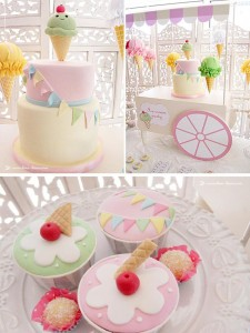 Ice Cream Party with Lots of Darling Ideas via Kara's Party Ideas | KarasPartyIdeas.com #IceCream #Party #Ideas #Supplies (1)