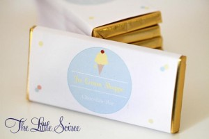 Ice Cream Party Full of Cute Ideas via Kara's Party Ideas | KarasPartyIdeas.com #IceCreamSocial #IceCreamBuffet #PartyIdeas #Supplies (22)