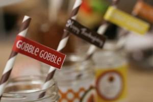 Thanksgiving Kids Table with FREE PRINTABLES via Kara's Party Ideas | KarasPartyIdeas.com #ThanksgivingPrintables #ThanksgivingTable #Party #Ideas #Supplies (8)
