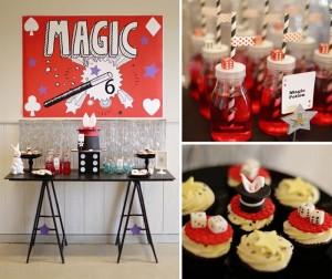 Magical Magic Party with So Many Fabulous Ideas via Kara's Party Ideas | KarasPartyIdeas.com #MagicianParty #MagicShow #PartyIdeas #Supplies (1)