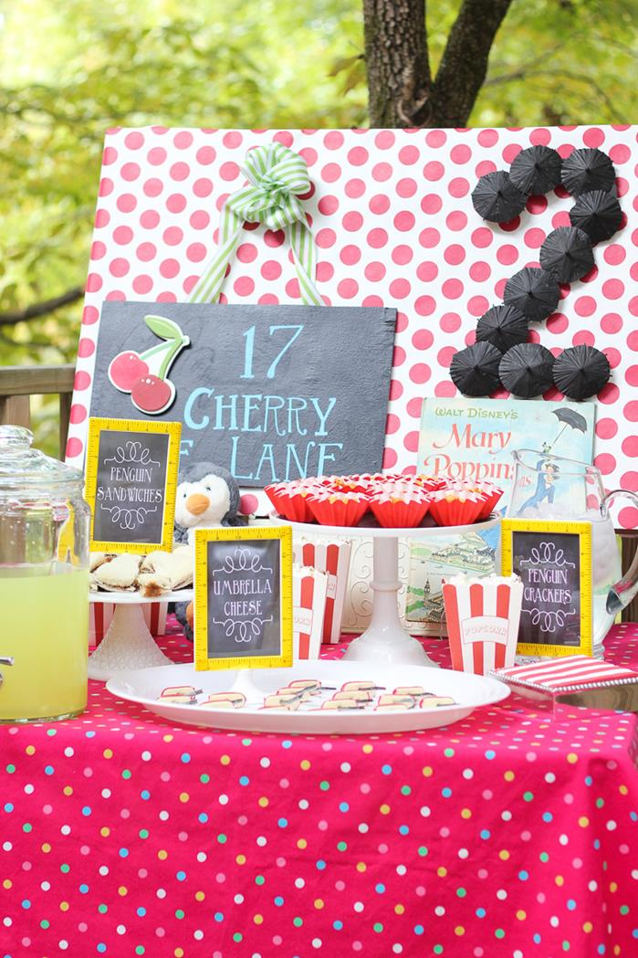 Kara S Party Ideas Mary Poppins Party Planning Ideas Supplies Idea