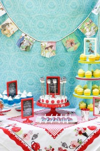 Mary Poppins Party with Lots of Really Cute Ideas via Kara's Party Ideas | KarasPartyIdeas.com #MaryPoppins #SpoonfulOfSugar #Party #Ideas #Supplies (9)