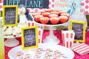 Mary Poppins Party with Lots of Really Cute Ideas via Kara's Party Ideas | KarasPartyIdeas.com #MaryPoppins #SpoonfulOfSugar #Party #Ideas #Supplies (3)