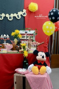 Mickey's Magic Land Mickey Mouse Party Full of Cute Ideas via Kara's Party Ideas | KarasPartyIdeas.com #MickeyMouse #PartyIdeas #Supplies (10)