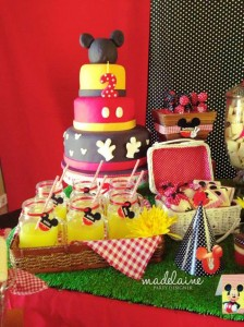 Mickey's Magic Land Mickey Mouse Party Full of Cute Ideas via Kara's Party Ideas | KarasPartyIdeas.com #MickeyMouse #PartyIdeas #Supplies (7)