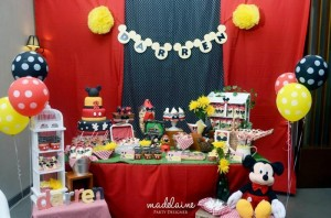 Mickey's Magic Land Mickey Mouse Party Full of Cute Ideas via Kara's Party Ideas | KarasPartyIdeas.com #MickeyMouse #PartyIdeas #Supplies (5)