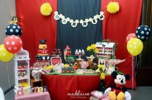 Mickey's Magic Land Mickey Mouse Party Full of Cute Ideas via Kara's Party Ideas | KarasPartyIdeas.com #MickeyMouse #PartyIdeas #Supplies (5)