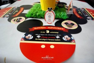 Mickey's Magic Land Mickey Mouse Party Full of Cute Ideas via Kara's Party Ideas | KarasPartyIdeas.com #MickeyMouse #PartyIdeas #Supplies (3)