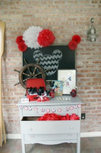 Vintage Mickey Mouse Party with Lots of Great Ideas via Kara's Party Ideas | KarasPartyIdeas.com #MickeyMouseParty #PartyIdeas #Supplies (34)