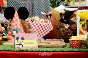 Mickey's Magic Land Mickey Mouse Party Full of Cute Ideas via Kara's Party Ideas | KarasPartyIdeas.com #MickeyMouse #PartyIdeas #Supplies (13)