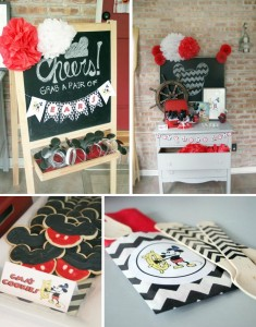 Vintage Mickey Mouse Party with Lots of Great Ideas via Kara's Party Ideas | KarasPartyIdeas.com #MickeyMouseParty #PartyIdeas #Supplies (1)