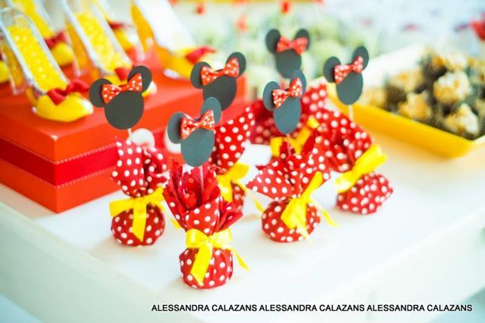 Minnie Mouse Party With Such Cute Ideas Via Karas