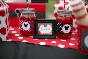 Minnie Mouse Polka Dot Picnic with Lots of Cute Ideas via Kara's Party Ideas | KarasPartyIdeas.com #MinnieMouse #PartyIdeas #Supplies (11)