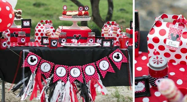 Minnie Mouse Polka Dot Picnic Party Planning Ideas Supplies Idea Cake