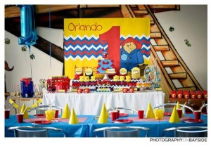 Paddington Bear Party with So Many Cute Ideas via Kara's Party Ideas | KarsPartyIdeas.com #PaddingtonBear #Party #Ideas #Supplies (4)