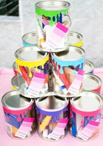 Painting Party with Lots of Really Fun Ideas via Kara's Party Ideas | KarasPartyIdeas.com #PaintParty #ArtParty #PartyIdeas #Supplies (11)