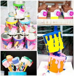 Painting Party with Lots of Really Fun Ideas via Kara's Party Ideas | KarasPartyIdeas.com #PaintParty #ArtParty #PartyIdeas #Supplies (1)