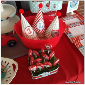 Mickey Mouse Little Red Car Party Full of Fabulous Ideas via Kara's Party Ideas | KarasPartyIdeas.com #MickeyMouseParty #Party #Ideas #Supplies (10)