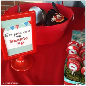 Mickey Mouse Little Red Car Party Full of Fabulous Ideas via Kara's Party Ideas | KarasPartyIdeas.com #MickeyMouseParty #Party #Ideas #Supplies (8)