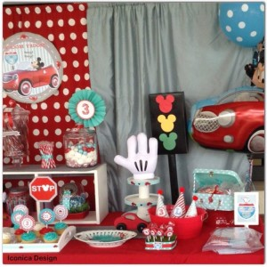 Mickey Mouse Little Red Car Party Full of Fabulous Ideas via Kara's Party Ideas | KarasPartyIdeas.com #MickeyMouseParty #Party #Ideas #Supplies (7)