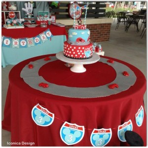 Mickey Mouse Little Red Car Party Full of Fabulous Ideas via Kara's Party Ideas | KarasPartyIdeas.com #MickeyMouseParty #Party #Ideas #Supplies (5)