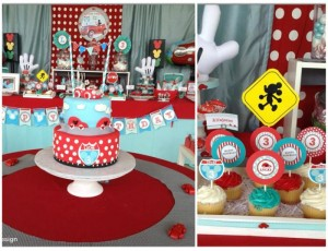 Mickey Mouse Little Red Car Party Full of Fabulous Ideas via Kara's Party Ideas | KarasPartyIdeas.com #MickeyMouseParty #Party #Ideas #Supplies (1)