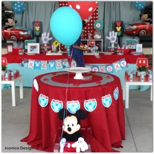 Mickey Mouse Little Red Car Party Full of Fabulous Ideas via Kara's Party Ideas | KarasPartyIdeas.com #MickeyMouseParty #Party #Ideas #Supplies (3)
