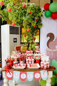 Little Red Riding Hood Woodland Party Full of Really Cute Ideas via Kara's Party Ideas | KarasPartyIdeas.com #LittleRedRidingHoodParty #WoodlandParty #Party #Ideas #Supplies (13)