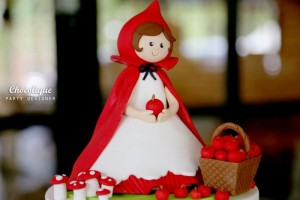 Little Red Riding Hood Woodland Party Full of Really Cute Ideas via Kara's Party Ideas | KarasPartyIdeas.com #LittleRedRidingHoodParty #WoodlandParty #Party #Ideas #Supplies (11)