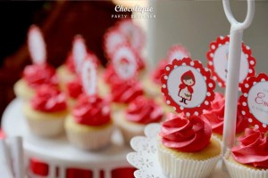Little Red Riding Hood Woodland Party Full of Really Cute Ideas via Kara's Party Ideas   KarasPartyIdeas.com #LittleRedRidingHoodParty #WoodlandParty #Party #Ideas #Supplies (9)