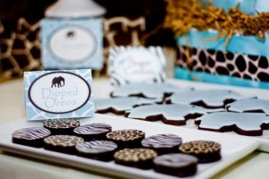 Safari Themed Baby Shower with Such Cute Ideas via Kara's Party Ideas | KarasPartyIdeas.com #SafariParty #Party #Ideas #Supplies (3)