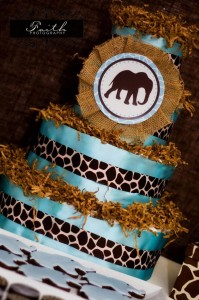 Safari Themed Baby Shower with Such Cute Ideas via Kara's Party Ideas | KarasPartyIdeas.com #SafariParty #Party #Ideas #Supplies (8)