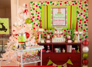 Santa's Little Helpers Christmas Party with Such Cute Ideas via Kara's Party Ideas | KarasPartyIdeas.com #ChristmasParty #HolidayParty #PartyIdeas #Supplies (30)