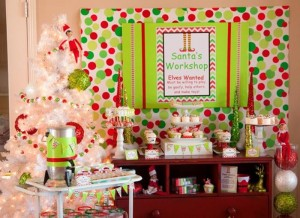 Santa's Little Helpers Christmas Party with Such Cute Ideas via Kara's Party Ideas | KarasPartyIdeas.com #ChristmasParty #HolidayParty #PartyIdeas #Supplies (17)