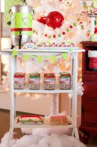 Santa's Little Helpers Christmas Party with Such Cute Ideas via Kara's Party Ideas | KarasPartyIdeas.com #ChristmasParty #HolidayParty #PartyIdeas #Supplies (5)