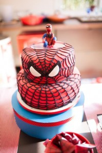 Spiderman Party with Lots of Awesome Ideas via Kara's Party Ideas | KarasPartyIdeas.com #SpidermanParty #SuperheroParty #Party #Ideas #Supplies (16)