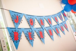 Spiderman Party with Lots of Awesome Ideas via Kara's Party Ideas | KarasPartyIdeas.com #SpidermanParty #SuperheroParty #Party #Ideas #Supplies (4)