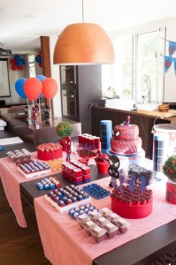 Spiderman Party with Lots of Awesome Ideas via Kara's Party Ideas | KarasPartyIdeas.com #SpidermanParty #SuperheroParty #Party #Ideas #Supplies (2)