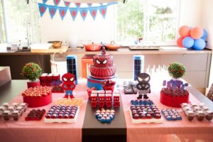 Spiderman Party with Lots of Awesome Ideas via Kara's Party Ideas | KarasPartyIdeas.com #SpidermanParty #SuperheroParty #Party #Ideas #Supplies (15)