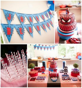 Spiderman Party with Lots of Awesome Ideas via Kara's Party Ideas | KarasPartyIdeas.com #SpidermanParty #SuperheroParty #Party #Ideas #Supplies (1)
